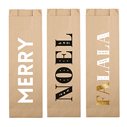 Paper Wine Bags - Holiday Assortment