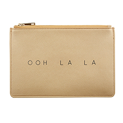 Fashion Pouch - Ooh La La - Gold