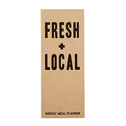 Weekly Meal Planner - Fresh + Local