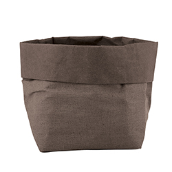 Washable Paper Holder - Medium - Stone Linen