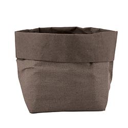 Washable Paper Holder - Medium - Stone Linen
