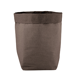 Washable Paper Holder - Large - Stone Linen