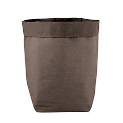 Washable Paper Holder - Large - Stone Linen