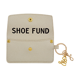 Credit Card Pouch - Shoe Fund - Champagne