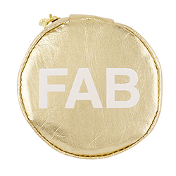 Accessory Pouch - Gold