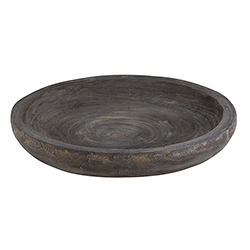Paulownia Bowl - Medium - Charcoal