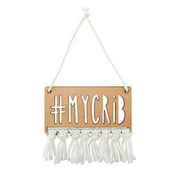 Wood Sign - #MyCrib
