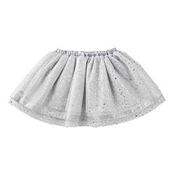 TuTu Skirt - Silver, 6-18 months