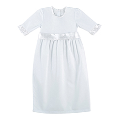 Gown - Girl's Baptism, 0-3 months