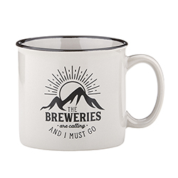 Campfire Mug - Grey - The Breweries are Calling