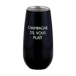 Champagne Tumbler - Champagne Sil Vous Plait