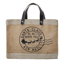 Farmer's Market Mini Market Tote - Air Mail