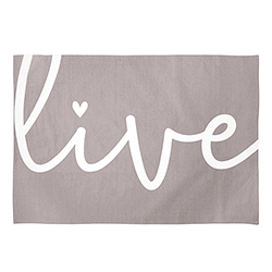 Tea Towel - Live