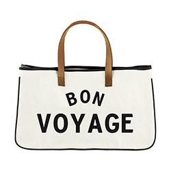 Canvas Tote - Bon Voyage