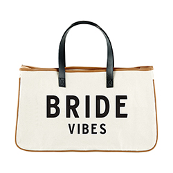 Canvas Tote - Bride Vibes