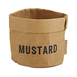 Washable Paper Holder - Small - Mustard