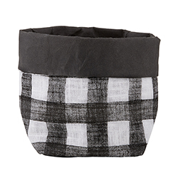 Washable Paper Holder - Small - Buffalo Check