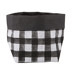 Washable Paper Holder - Medium - Buffalo Check