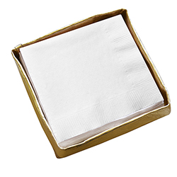 Cocktail Napkin  Holder - Gold