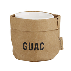 Guac Holder & Ceramic Dish Set - Medium