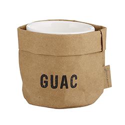 Guac Holder & Ceramic Dish Set - Medium