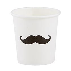 Paper Shot Cups - Mustache