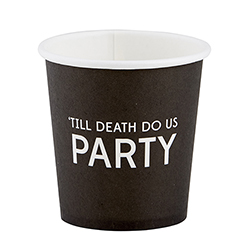 Paper Shot Cups - 'Till Death
