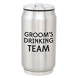 Stainless Steel Can - Drinking Team