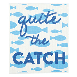 Baby Washcloth - Quite The Catch