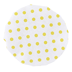 Shower Cap - Yellow Dot
