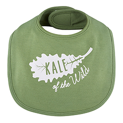 Veggie Bib - Kale Of The Wild, 3-12 months