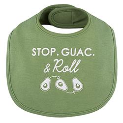 Veggie Bib - Stop, Guac & Roll, 3-12 months