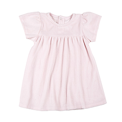 Velour Dress - Blush, 6-12 months