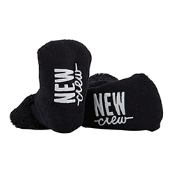 Socks - New Crew - Black, 3-12 months