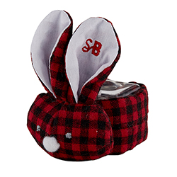Boo-Bunnie® - Red/Black Flannel