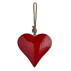 Enamel - Red Heart