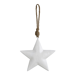 Enamel - White Star