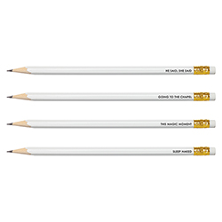 Face to Face Pencil Set - He Said She Said