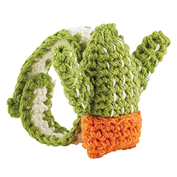 Crochet Wristlet - Cactus