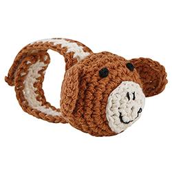 Crochet Wristlet - Monkey