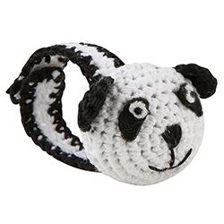 Crochet Wristlet - Panda