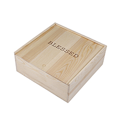 Keepsake Box - Blessed