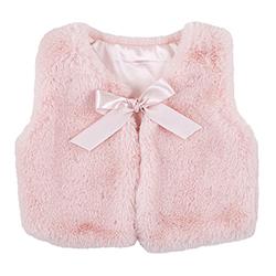 Vest - Pink Fur