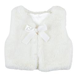 Vest - White Fur