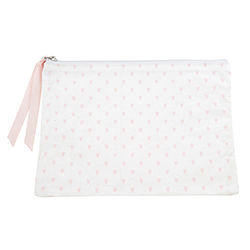 Canvas Pouch - Hearts