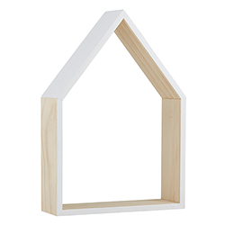 Wood Shelf - White House