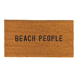 Face to Face Door Mat - Beach People