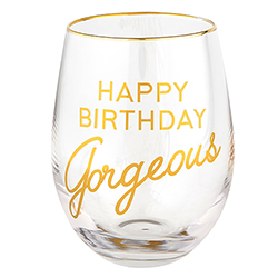 Wine Glass - Happy Birthday Gorgeous