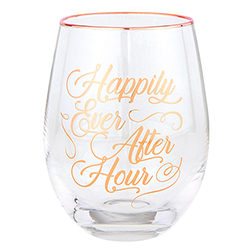 Wine Glass - Happily Hour