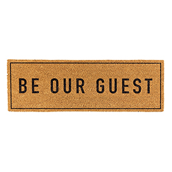 Door Mat - Be Our Guest